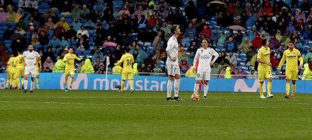 El Villarreal firma el primer triunfo de su historia en el Bernabéu