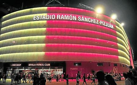 Imagen de los aledaños del Ramón Sánchez-Pizjuán.