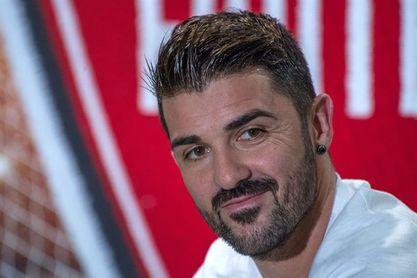 """David Villa: """"Trabajaré duro para ser parte del Mundial de Rusia"""""""