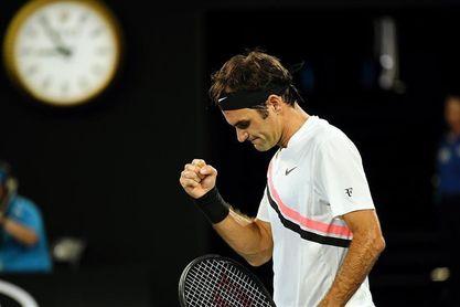 Federer y del Potro debutan sin ceder un set
