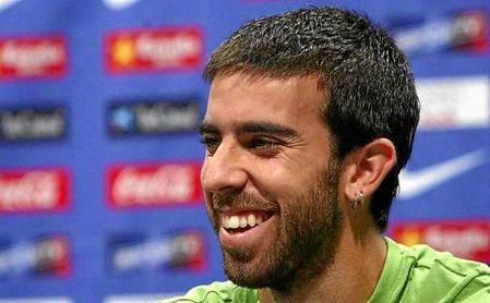 Oleguer, durante su etapa como jugador del FC Barcelona.