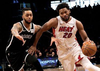 101-95. Carroll y Nets detienen mala racha en remontada ante Heat