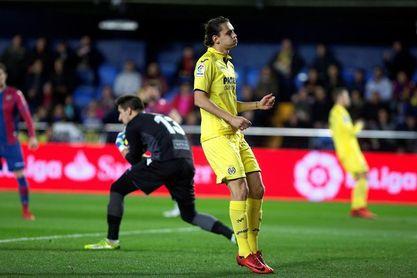 2-1. El Villarreal fue superior a un Levante que apenas inquietó