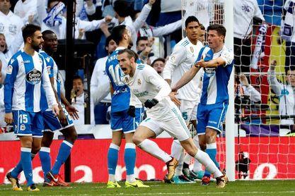 El Real Madrid golea 7-1 al Deportivo