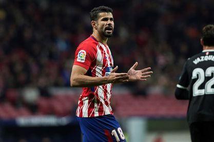 Diego Costa sufre una elongación muscular y es duda para Sevilla
