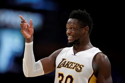 127-107. Los Lakers desdibujan a los Knicks de Porzingis
