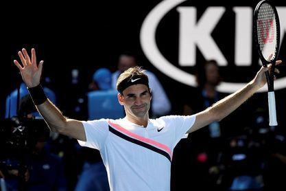 Federer accede a cuartos donde se medirá a Berdych