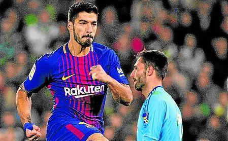 Suárez fue clave en el partido del Villamarín.