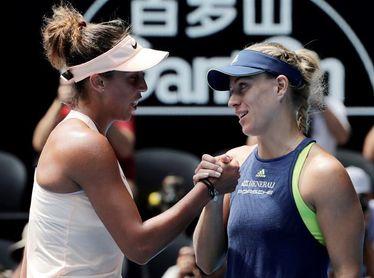 La alemana Angelique Kerber, primera semifinalista en Australia