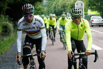 Peter Sagan elogia la competitividad y la lealtad de su excompañero Contador
