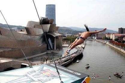 """La competición de saltos de """"clavadistas"""" volverá a Bilbao el 30 de junio"""