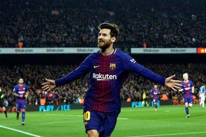 2-0. Luis Suárez y Messi dan la vuelta a la eliminatoria en la primera parte