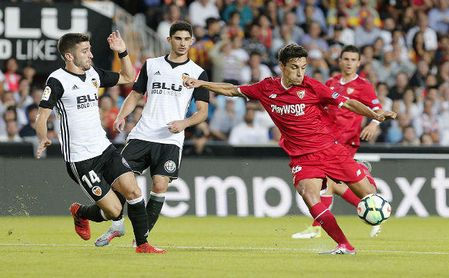 Sevilla y Valencia, empatados para destronar al Barcelona en Copa del Rey.