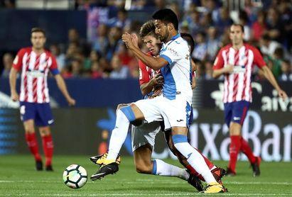 """Dos Santos: """"Lo importante ahora es el derbi contra el Getafe"""""""