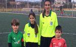Lorena y su sueño de arbitrar un partido de fútbol
