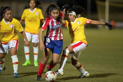 Melissa Herrera da a las Leonas un celebrado punto frente al Atlético