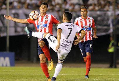 1-0. Un gol de Santa Cruz da ventaja a Olimpia frente a Junior