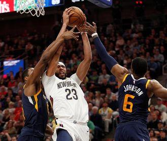 100-114. Davis gana duelo a Westbrook en triunfo de Pelicans