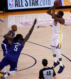 104-119. Durant lidera ataque de Warriors que vuelven al camino del triunfo