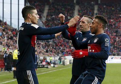 El Bayern derrota al Maguncia (0-2) con goles de James y Ribery