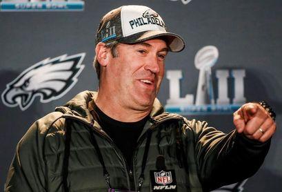 Los Eagles con Foles y su entrenador Pederson pueden dar la sorpresa