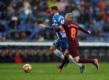 """Iniesta: """"El equipo ha hecho un gran partido"""""""