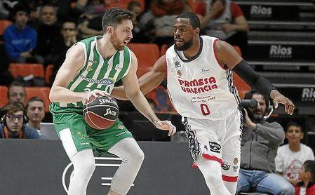 Valencia Basket 103-67 Real Betis: Se ahoga en la Fonteta.