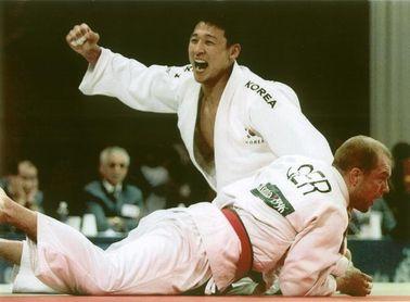 Alejandro Blanco se reunió con el campeón olímpico Jeon Ki-Young