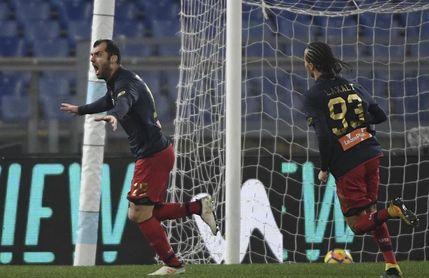 El uruguayo Diego Laxalt castiga al Lazio con un gol en el 92 (1-2)