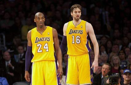 "Kobe Bryant: ""Pau Gasol tendrá su número 16 retirado por los Lakers"""