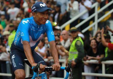 Nairo Quintana descarta una fractura tras una caída en la carrera Colombia Oro y Paz