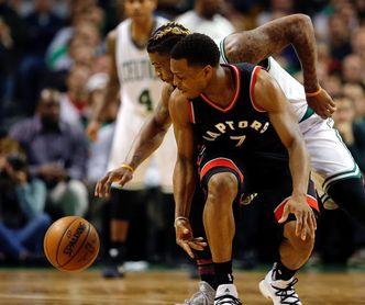 111-91. Los Raptors detienen la marcha triunfal de los Celtics en el regreso de Lowry