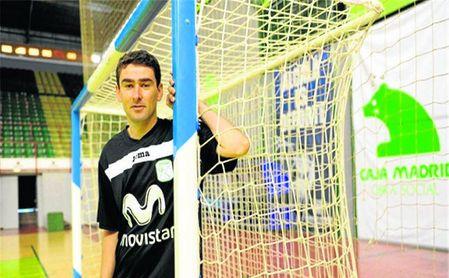 Daniel Ibañes, cuando entrenaba al Inter Movistar.