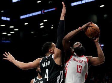 101-109. Harden vuelve a brillar con 41 puntos y los Rockets llegan a 6 triunfos
