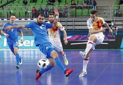 5-5. Los penaltis dirigen a España a la final contra Ricardinho