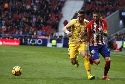 El Girona amplia el contrato de Aday Benítez hasta 2021.