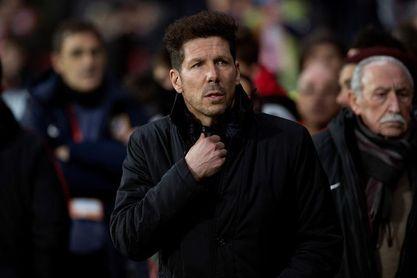 Simeone ultima detalles para Málaga con el once previsto