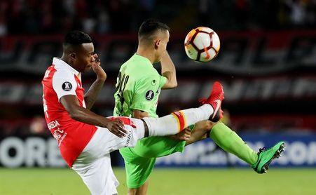 0-0. Santa Fe elimina al Táchira y jugará fase la 3 con Santiago Wanderers