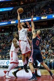 113-88. Valanciunas aporta doble-doble y los Raptors logran el cuarto triunfo seguido