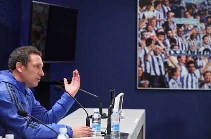 """Eusebio: """"El equipo está ilusionado con poder superar al Madrid"""""""