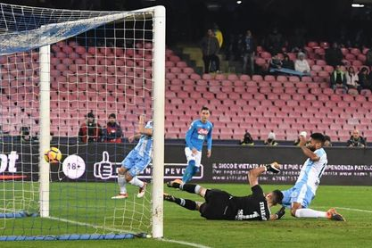 4-1. El Nápoles sigue líder tras arrollar al Lazio