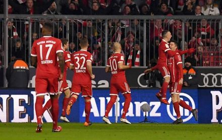 El Bayern sigue intratable y Lewandowski establece un nuevo récord