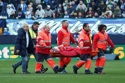 El centrocampista Medhi Lacen sufre traumatismo craneoencefálico pero está consciente