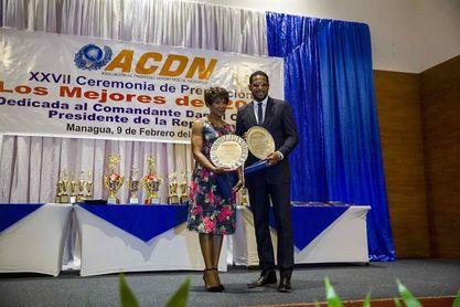 Cubanos Javier Sotomayor y Ana Fidelia Quirot son homenajeados en Nicaragua