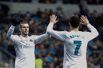 El Real Madrid palía sus penas ligueras con un festín goleador