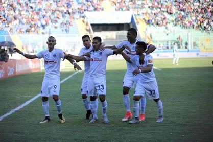 1-0. Olimpia vence al Real España y sigue líder del Clausura hondureño