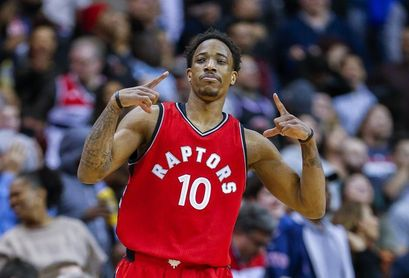 103-123. DeRozan lidera la quinta victoria consecutiva de los Raptors