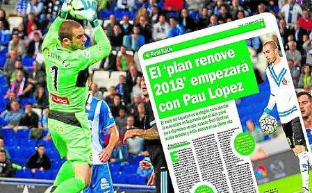 ESTADIO Deportivo adelantó el interés por Pau en su edición impresa del 19 de agosto de 2017.