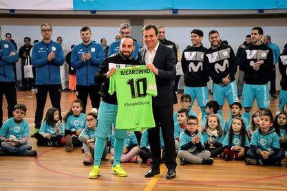 Ricardinho, mejor jugador de la Eurocopa 2018
