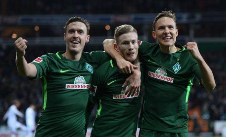 El Werder Bremen y el Stuttgart se alejan del descenso